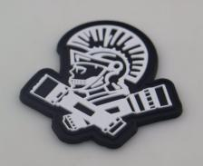 X-Light Patch in White/Black